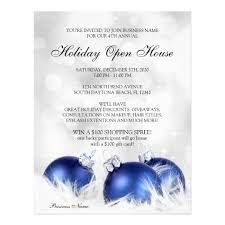 business open house flyer template business and store christmas holiday open house flyer