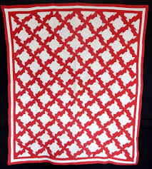 749 best RED QUILTS images on Pinterest | Patchwork embutido ... & Antique Circa 1900 Red and White Drunkard's Path Quilt Adamdwight.com