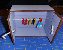 doll furniture recycled materials. DIY Recycled Material Doll Idea Closet Furniture Materials R