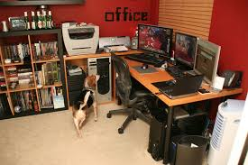 home office world. beer and world of warcraft home office t