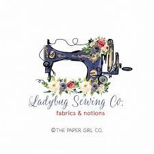 Logo Sewing Machine