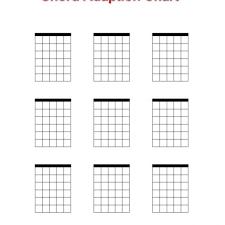 Blank Chord Chart Blank Chord Chart Ibov Jonathandedecker With Blank Chord