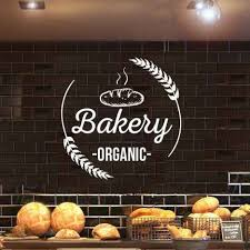 Detail Feedback Questions About Bakery Shop Logo Wall Sticker