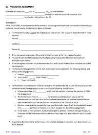 Venue Contract Template Promoter Venue Contract Template Templates Mti4mzgy