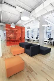 modern open plan interior office space. The Orange Conference Room Is A Bit Much. But Layout Of Tables Etc Modern Open Plan Interior Office Space