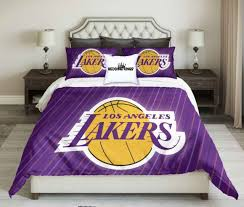 lakers basketball bedding set lakers nba bed spread lakers cover set
