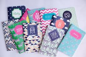 Adding some personal touch to plain journal makes a perfect birthday gift  for