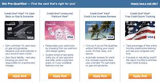 Credit Card Comparison Chart How To Apply For The Credit One Credit Cards