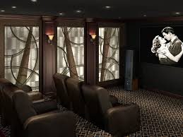 home theater acoustic wall panels. artistic acoustic panels for home theaters. \u201c theater wall