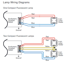 4 Pin Relay Wiring Diagram Lights 4 Pin Ballast Wiring Diagram Wiring Diagram 500