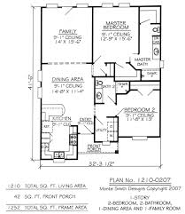 Modern Small Story House Plans On Simple Plan Stupendous Bedroom ...