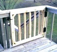 deck gates for dogs porch dog
