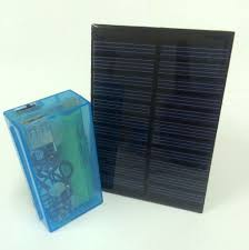 picture of solar power bank with salvaged 18650