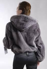 <b>Hooded</b> Blue Iris mink fur <b>jacket</b> | Меховые <b>куртки</b>, Наряды, Шуба