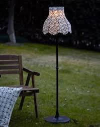 ikea floor lamps lighting. Ikea SOLVINDEN LED Solar Powered Floor Lamp Outdoor Lighting Black White Fringe Lamps 2