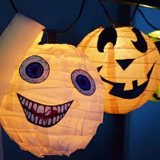 Diy Halloween Light Show Easy Diy Halloween Paper Lantern