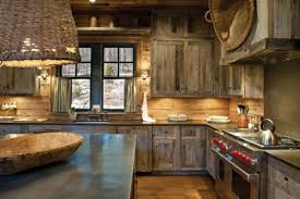 Rustic Kitchen Island Table Kitchen Comfortable Rustic Kitchen Decor With L Shape Wood