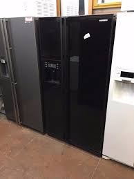 samsung american black fridge freezer glass door used