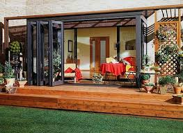 Brilliant Folding Patio Doors Cost With Innovation Ideas