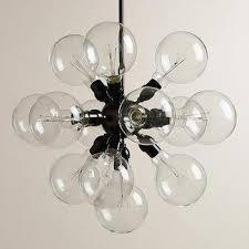 13 bulb cer black chandelier