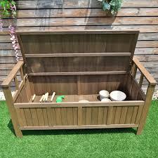 costway 70 gallon all weather outdoor patio storage garden bench deck box 5
