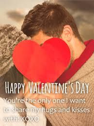 xoxo happy valentine s day card