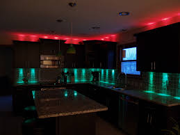 Above Cabinet Lighting Ideas Elegant Kitchen Cabinets Led Lighting Modern Design Models