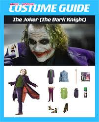 diy the joker heath ledger costume guide
