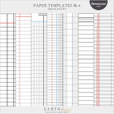 ledger paper templates paper templates no 4 ledger cu