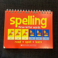 Learn To Spell 3 Letter Words Flip Chart Books Stationery