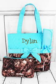 Wholesale Camo Bags, Jewelry & Accessories at Wholesale Accessory ... & BNB Natural Camo Quilted Diaper Bag with Turquoise Trim #SNQ2121-TURQ -  Wholesale Accessory Adamdwight.com