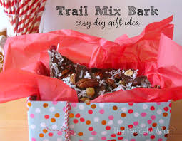 Trail Mix Bark - Easy Gift Idea from The Peaceful Mom
