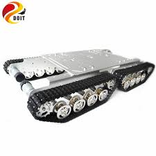 TS600 4WD Shock Absorber Tank Chassis with <b>Aluminum Alloy</b> ...