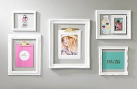 white open frame wall display scrapbook wall art on wall art frames with white open frame trendy wall art craft warehouse