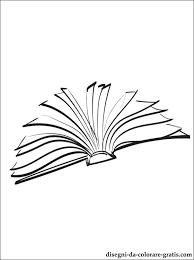 Disegno Di Libro Aperto Da Stampare Disegni Da Colorare Gratis