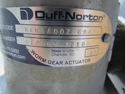duff norton explosion proof universial mount screw jack accuator w duff norton explosion proof universial mount screw jack accuator w motor brake