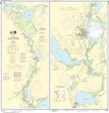 Oceangrafix Noaa Nautical Chart 11498 St Johns River Lake