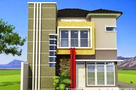 16 contoh rumah minimalis 2 lantai model terbaru 2017 desain