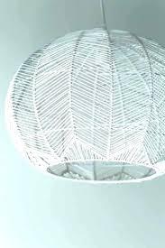 rattan pendant lighting. Wicker Pendant Light Lamp Rattan Shade Lighting . E