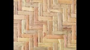 Exterior Bamboo Panels Waterproof Wall Covering Tropical D Cor