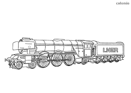 Coloring pages thomas the train. Trains Coloring Pages Free Printable Train Coloring Sheets