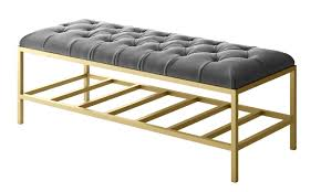 Bench Designer Clothes Ruth Tufted Modern Accent Bench Custom Furniture
