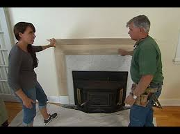 how to build a custom fireplace mantel