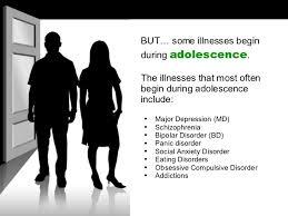 On teen mental health diagnosis