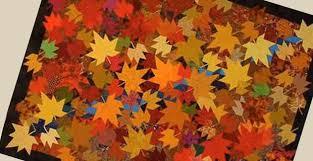 Stunning Fallen Leaf Quilt Pattern - Quilting Digest & Fallen Leaf Quilt Pattern Adamdwight.com