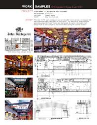 architectural resume b l o g work sample