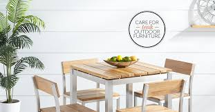 how to care for teak furniture
