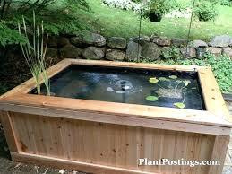 diy above ground pond rectangular google garden box plans beds
