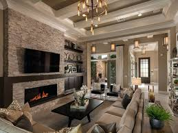 chandeliers rustic great room chandeliers great room chandelier a dramatic coffered ceiling defines this great
