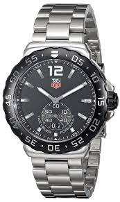 amazon com tag heuer men s wau1110 ba0858 formula 1 black dial amazon com tag heuer men s wau1110 ba0858 formula 1 black dial stainless steel quartz watch tag heuer watches